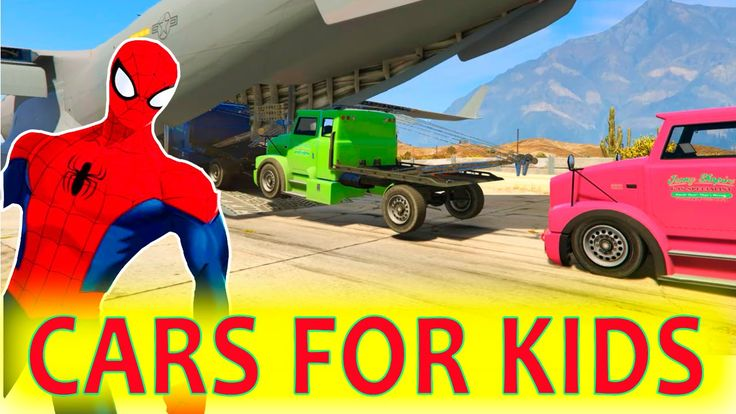 NEW!!! A LOT OF TOW TRUCK with SPIDERMAN Cartoons Cars