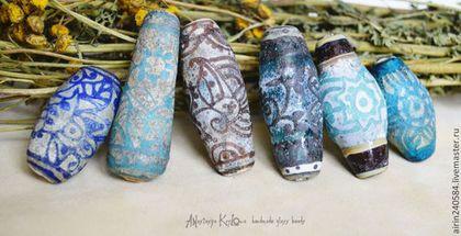 Для украшений ручной работы. Ярмарка Мастеров - ручная работа Большие античные бусины. Handmade.