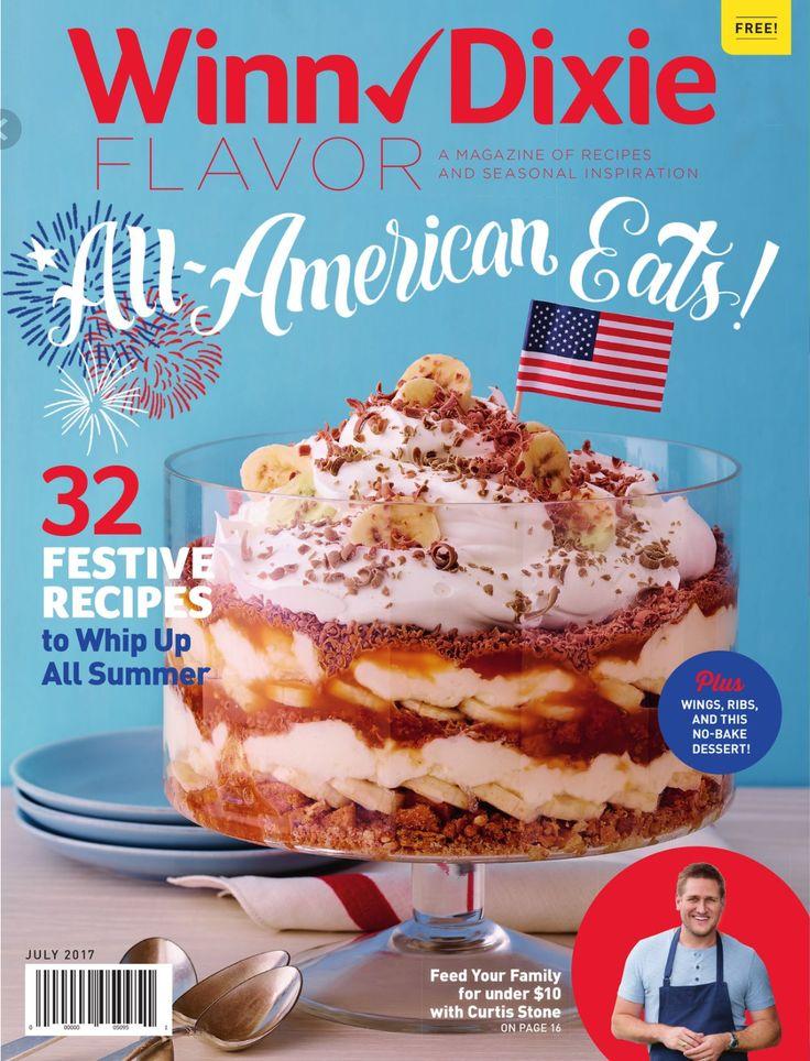 Winn Dixie Magazine June 27 - July 31, 2017 - http://www.olcatalog.com/grocery/winn-dixie-magazine.html