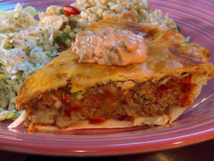 Louisiana Crawfish Pie — Rick's White Light Diner (Frankfort, Ky.) : The pie crust at Rick's is homemade with lots of butter and makes for the perfect shell to this traditional Louisiana dish. With onions, peppers and farm-raised crawfish tails, it's a local favorite.