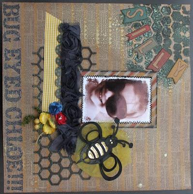 Bug Eyed Chloe by Amy Prior