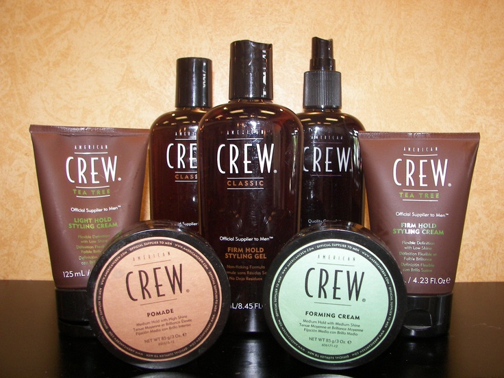 Men all over the world are using American Crew products!