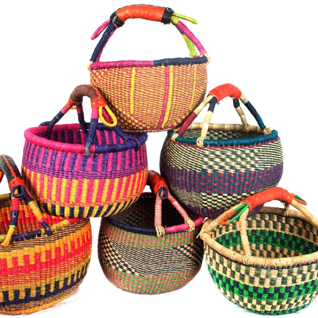 African Baskets: 107 Best Bolga Baskets Of Africa Images On Pinterest