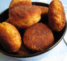 Recette - Croquettes de riz épicées - Notée 4.7/5 par les internautes