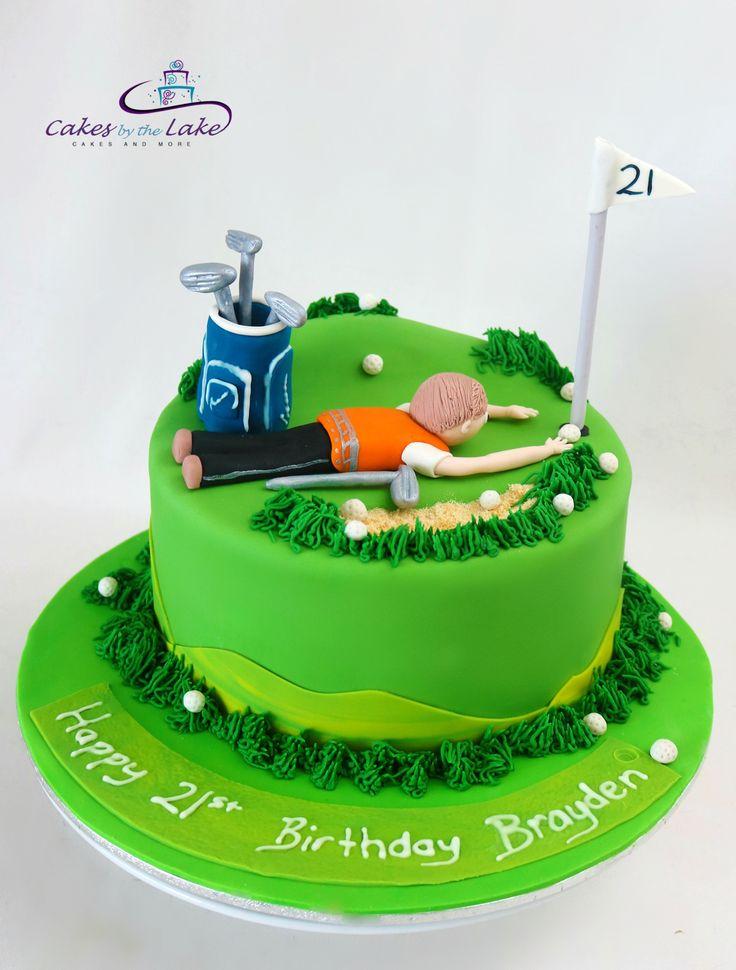 17 Best ideas about Golf Course Cake on Pinterest Golf ...