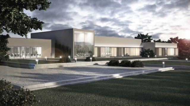 medical center concept; project: make Architekci