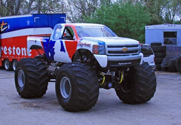 About Time - Bigfoot monster truck defects from Ford to Chevy after more than 35 years