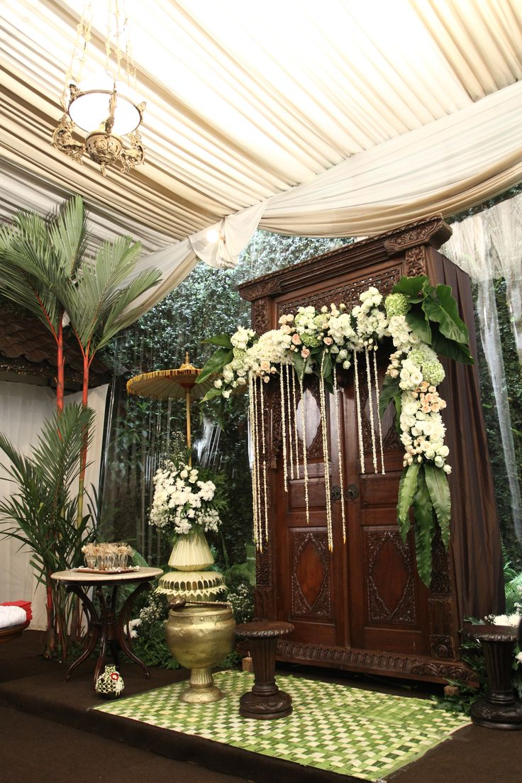 Siraman decoration