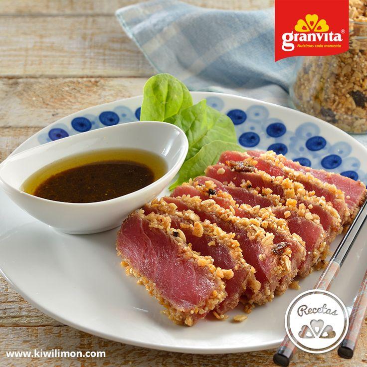 Toda tu familia amará lo crujiente de este delicioso atún. 🐟