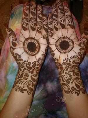 Tikki mehendi design by blogspot at 0