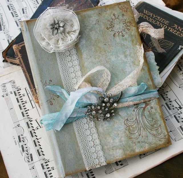 Wedding Guest Book Winter Wonderland Theme Vintage Style 24 Pages 69 99