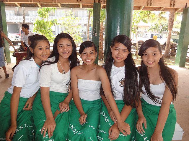 beautiful women of guam