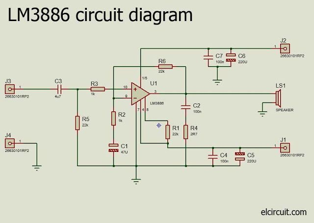 Parallel Gainclone Power Amplifier Lm3886 In 2019