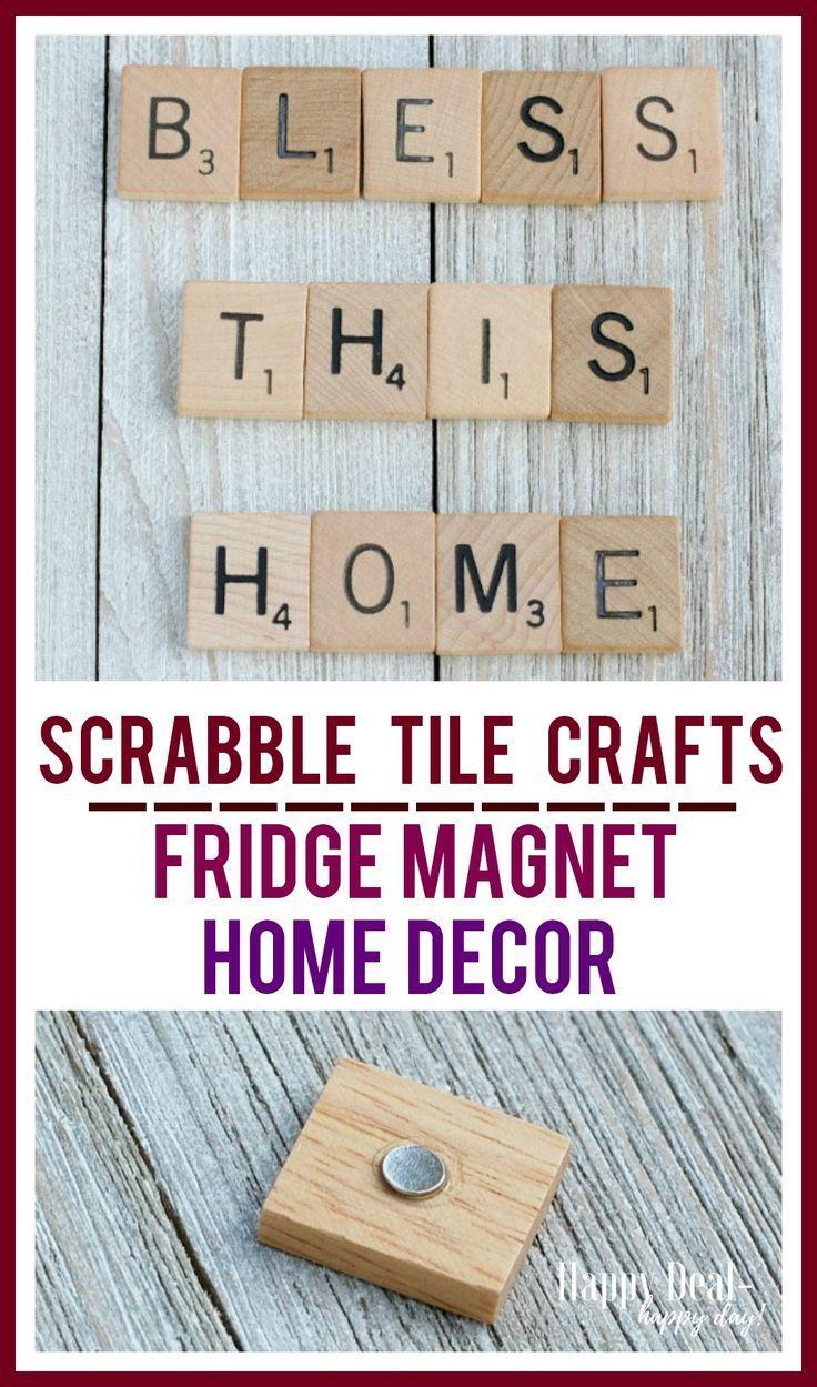 scrabble tile crafts use