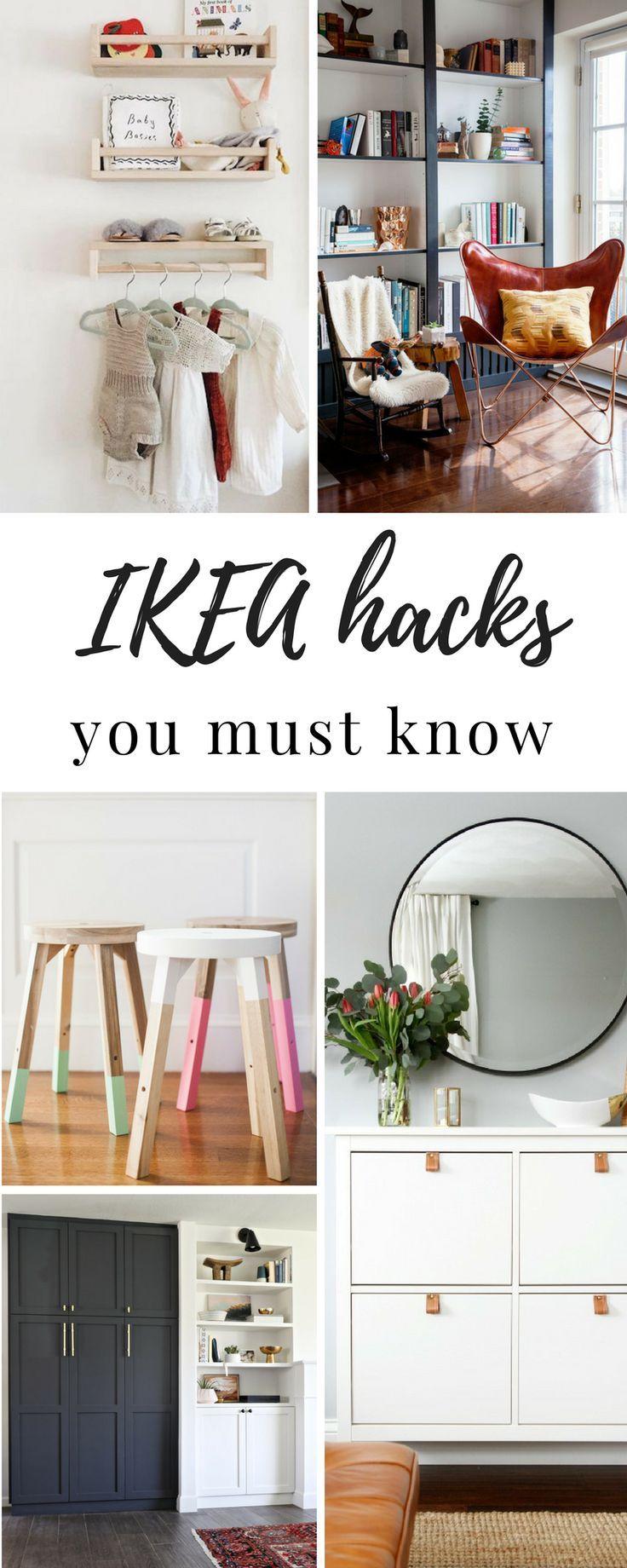 7 Erstaunliche IKEA-Hacks, die Sie kennen müssen