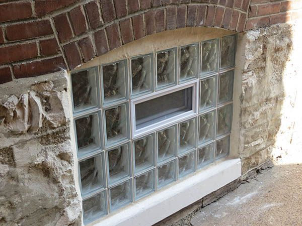17 best images about glass block basement windows on for Block basement