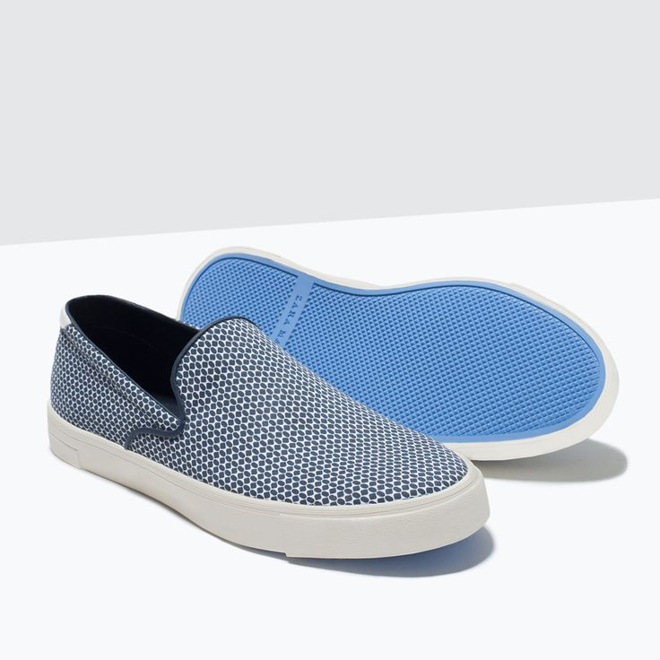ZARA - SHOES & BAGS - PRINTED SLIP-ON SNEAKER