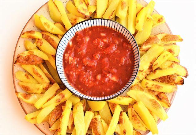 Jazzowe Smaki: Salsa Pomidorowa i szybkie pieczone ziemniaki