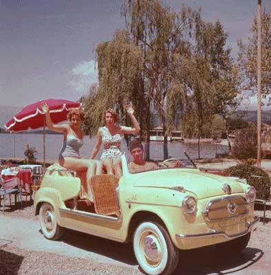 Fiat 600 Jolly Ghia bodywork