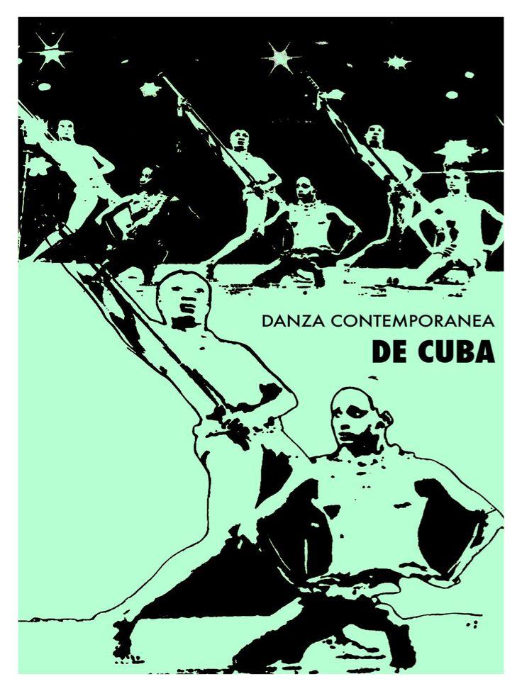 714.Cuban Quality Design POSTER.Danza Contemporanea de Cuba.green Decor | eBay