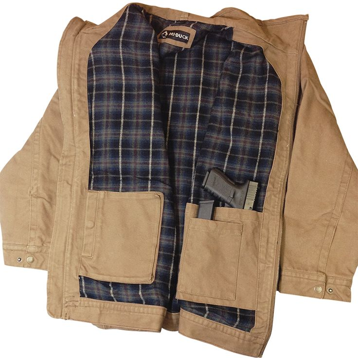 Our Dri-Duck jacket is the perfect way to keep warm during the winter and still be able to conceal carry! 12 oz., quarry-washed Boulder Cloth Canvas with a soft blanket lining and inside side-carry pockets.   Get yours today: http://nine.li/227vUdO  #concealcarry #progun #2ndamendment #driduck #ninelineapparel #weliketocarry #mensapparel #winterjacket