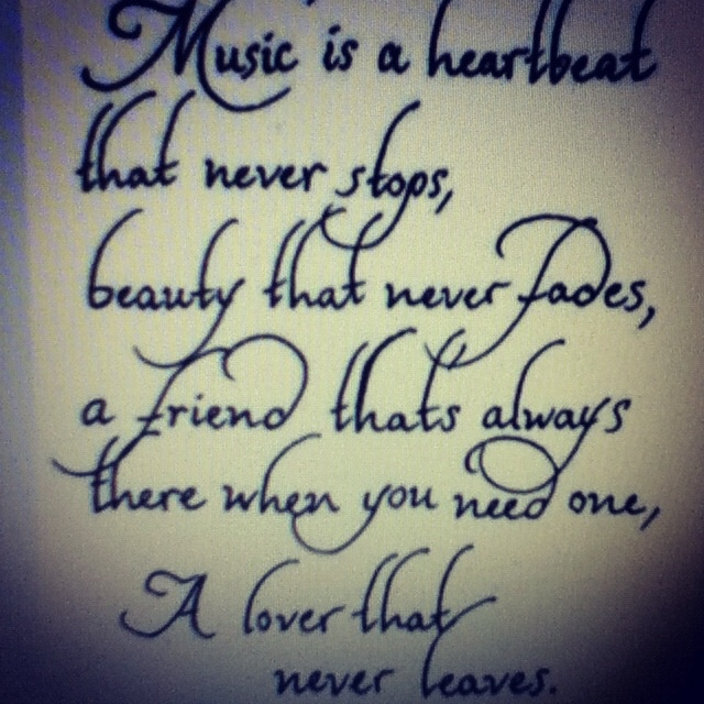 Best 25+ Music Quote Tattoos Ideas On Pinterest