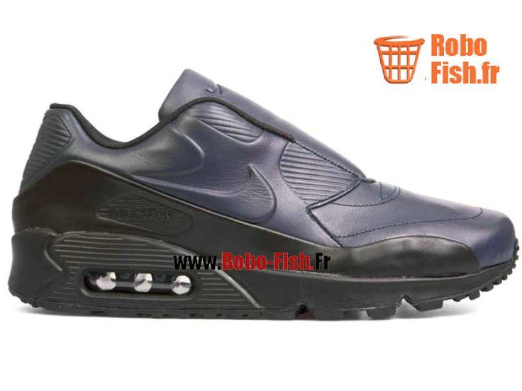 """Nike Air Max 90 Sp/Sacai """"Sacai"""" - Chaussure Nike Running Pas Cher Pour Homme Noir 804550-440"""