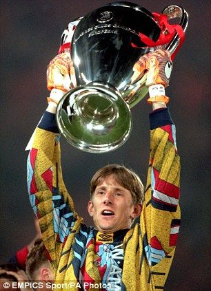 Edwin Van Der Sar (Ajax Amsterdam, Champion's League 1995)