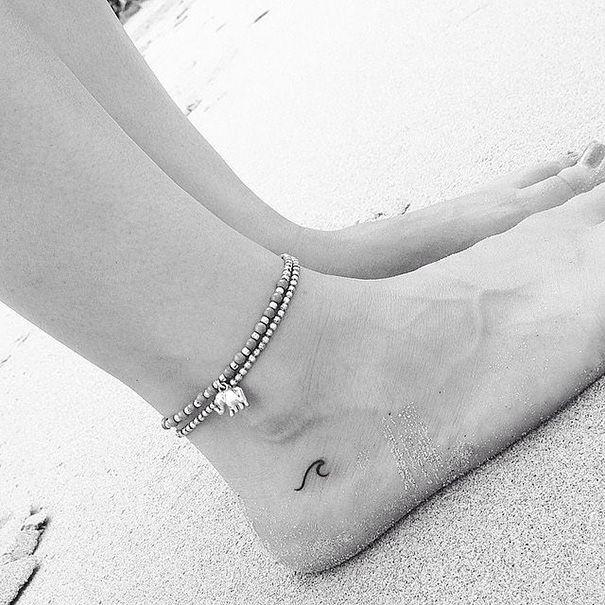 45 magnifiques petits tatouages de pieds et chevilles  2Tout2Rien
