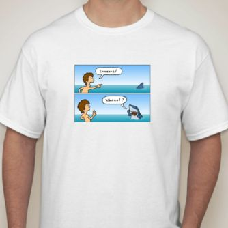 Shark Response T-Shirt...I laughed!