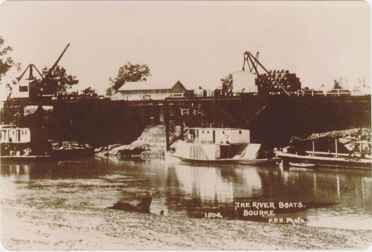 River boats, Bourke, NSW.