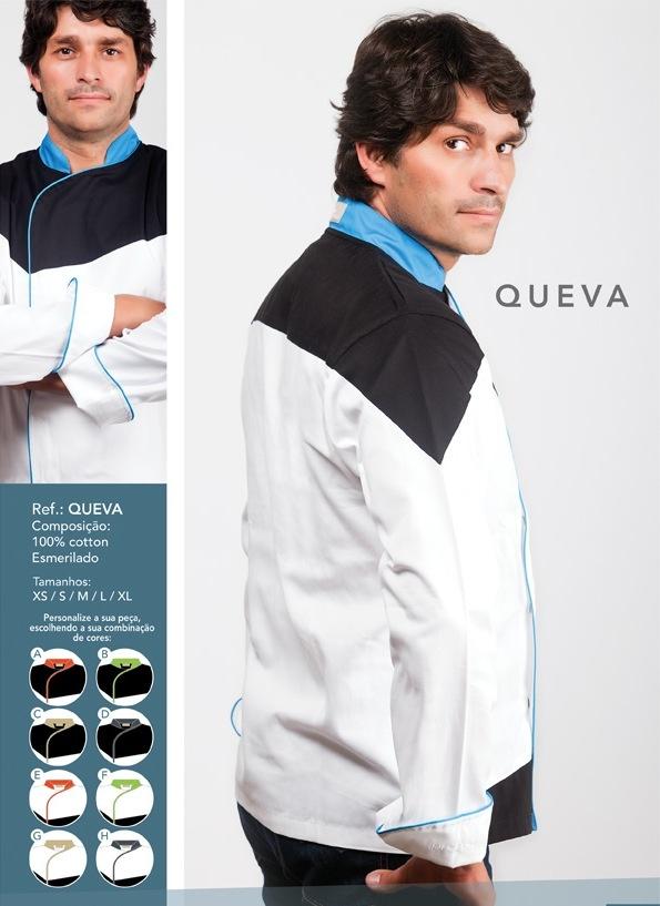 Jaleca Queva/Queva chef coat