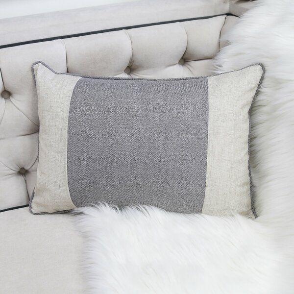 Maude Rectangular Linen Feathers Lumbar Pillow In 2020 Linen Pillow Covers Linen Pillows Pillows