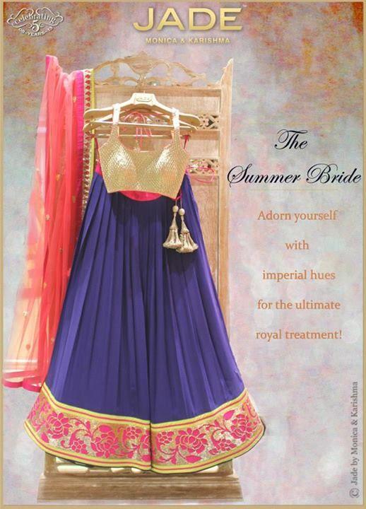JADE by Monica & Karishma The Summer Bride