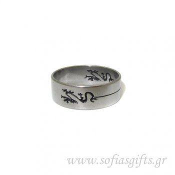 Ανδρικό δαχτυλίδι χαραγμένο δράκος - Είδη σπιτιού και χειροποίητες δημιουργίες | Σοφία#ανδρικά #δαχτυλιδια #κοσμηματα #andrika #daxtylidia #kosmhmata