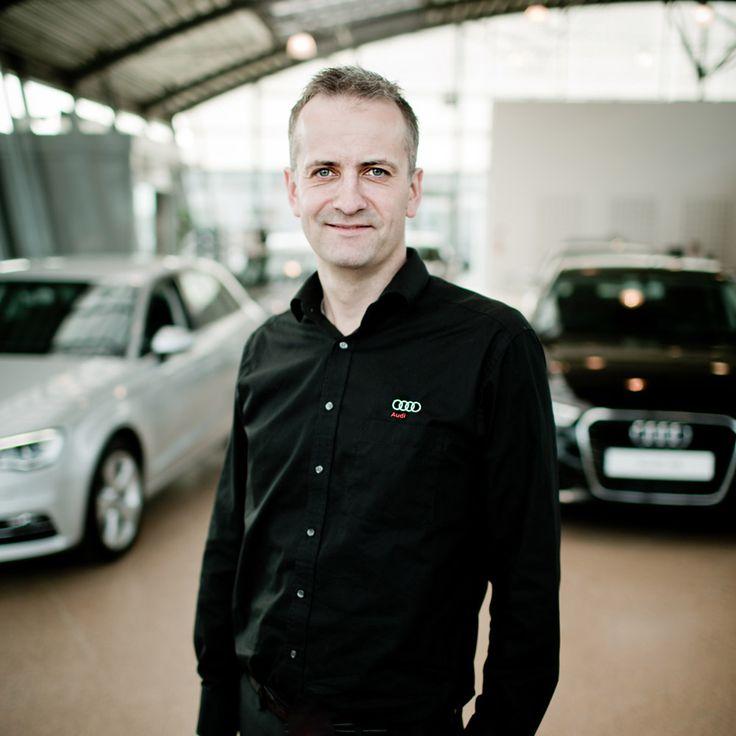 Erhvervsportræt ved Audi Aarhus