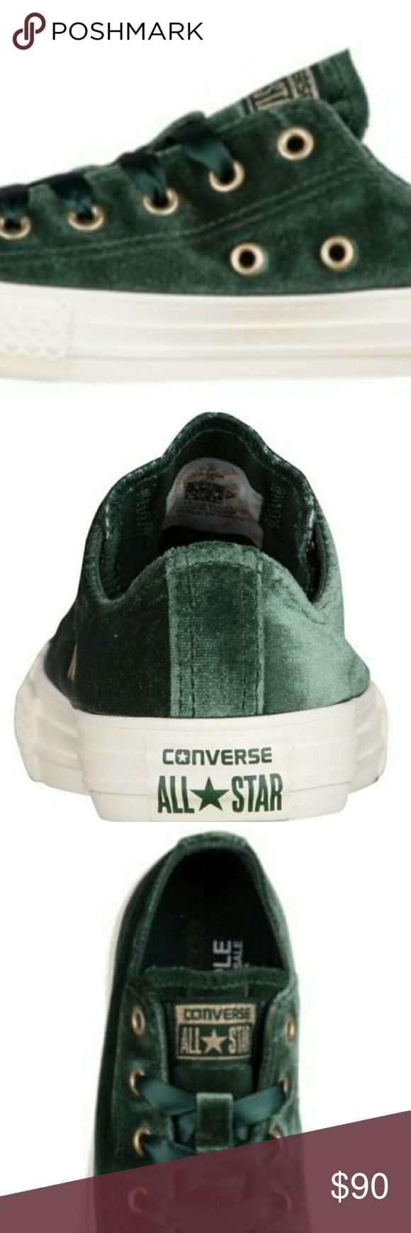 Grew suede converse for men women and kids Green suede converse for men women and kids any size and colors Converse Shoes