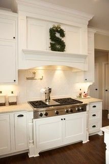 17 best images about rangehood on pinterest transitional for Shaker style kitchen hoods
