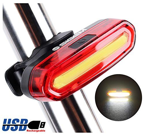 Rear Flashlight taillight DT Black Waterproof LED Bike Bicycle Head Light