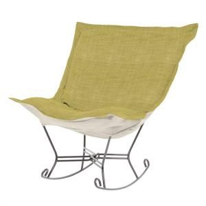 Scroll Puff Rocker - On SALE - Scroll Puff Rocking Chair