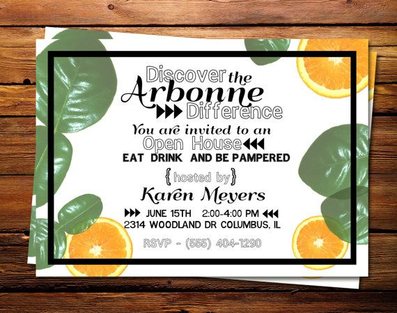 Arbonne Open House Invite Contact me to begin Healthy Living with Arbonne.com  ~ Independent Consultant ID No. 13845483