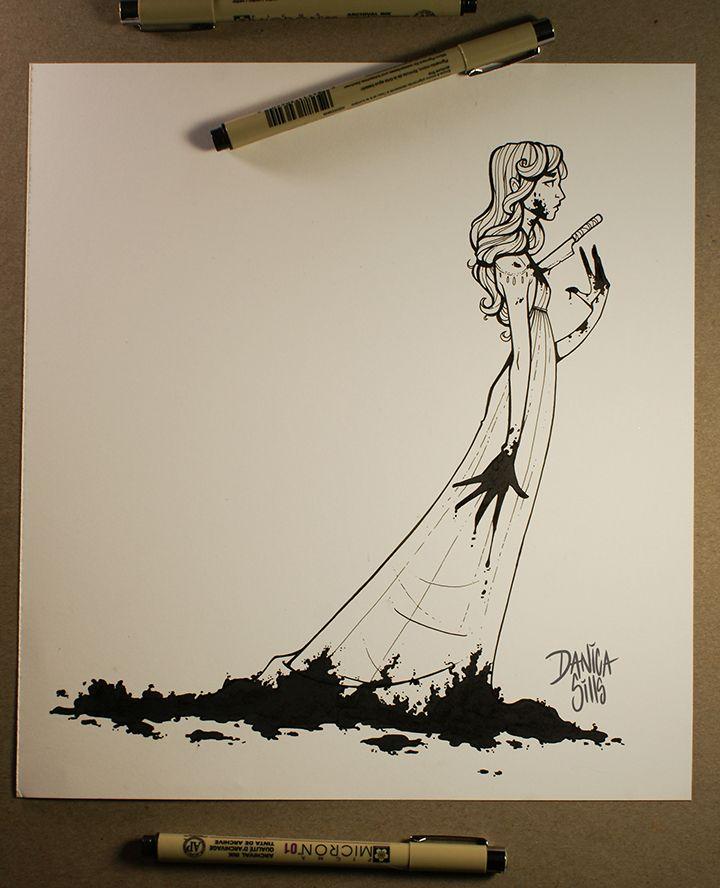 The 25+ best Scary drawings ideas on Pinterest | King, Oops slip ...