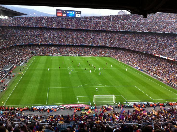 Стадион Камп Ноу. Барселона.