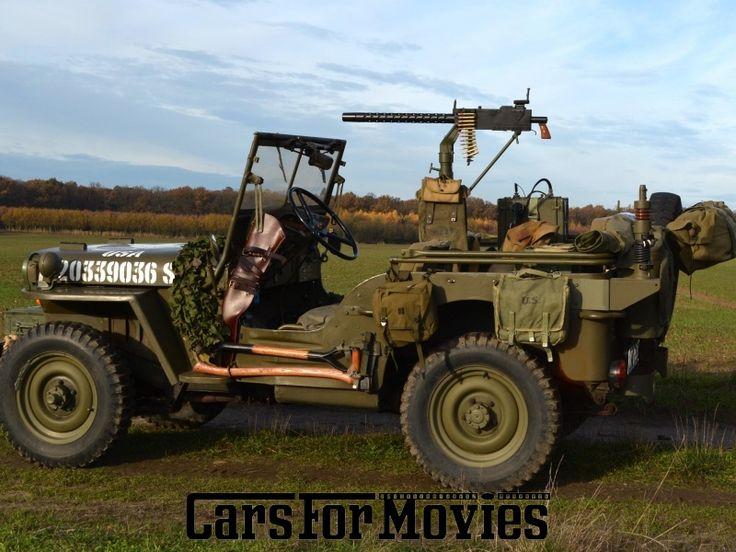 Jeep Willys MB, USA 1943 - CarsForMovies - Filmfahrzeuge, Moviecars und Film Autos mieten bundesweit.