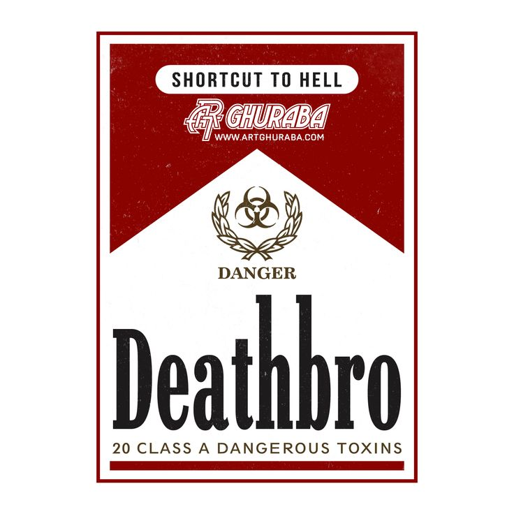 Deathbro | logo parody