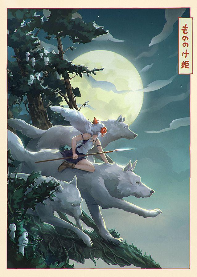 .ride of the wolf clan by ml-11mk.deviantart.com on @DeviantArt