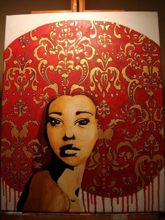 Pin By Enhawaii On Fashion Amp Art Art African Art Afro Art