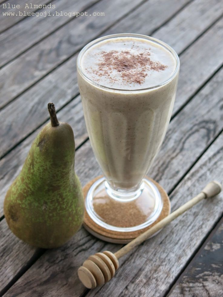 Gruszka & Orzech Włoski Smoothie / Pear and Walnut Smoothie (raw vegan)