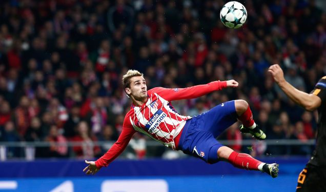Antoine Griezmann Smacked In A Very Pretty Bicycle Kick Golazo