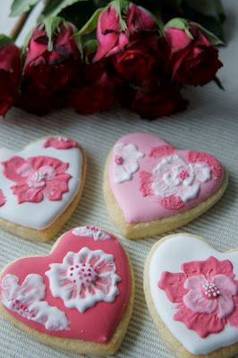 Pretty Cookies for Valentine's Day